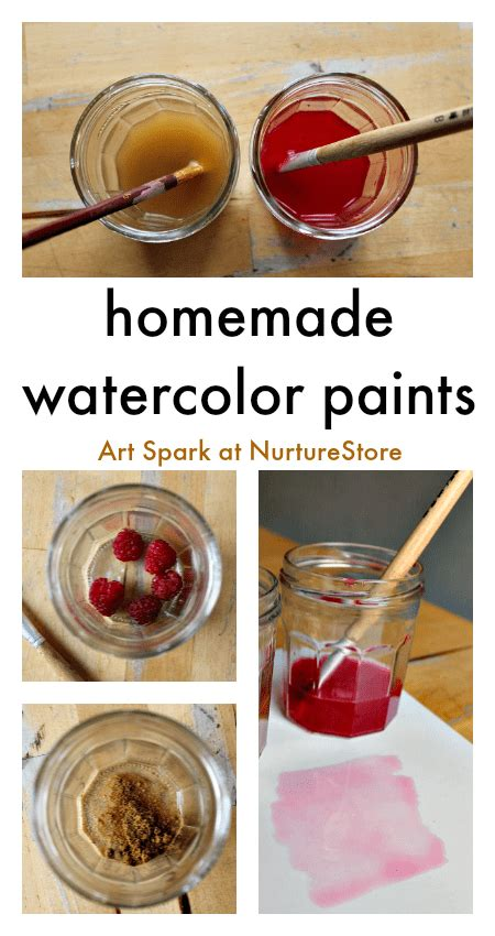 how to make watercolor paints recipe nurturestore