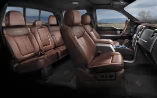 Toyota 1794 Interior by 2014 Toyota Tundra 1794 Edition Interior