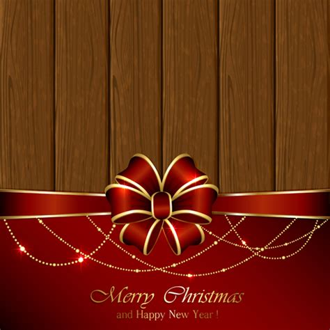 new year decorations names and new year decorations with wooden background