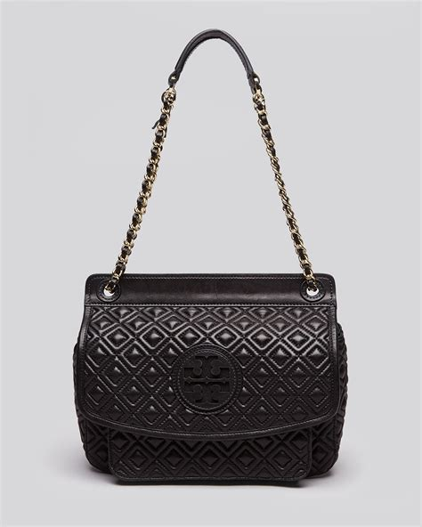 Burch Quilted Bag by Burch Shoulder Bag Marion Quilted Small In Black Lyst