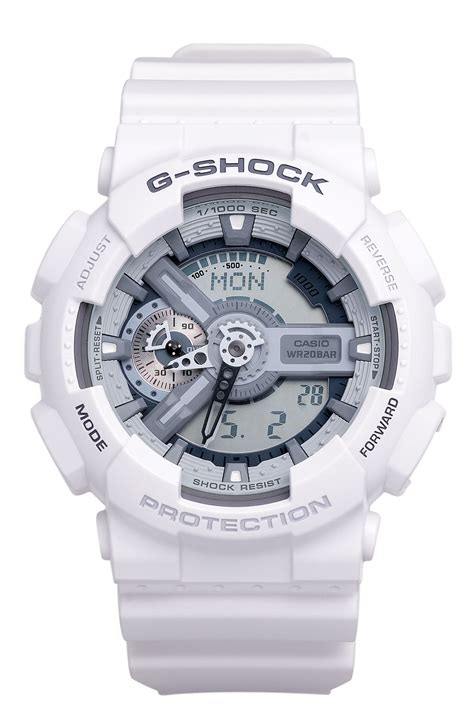 G Shock White casio g shock x large big combi in white lyst
