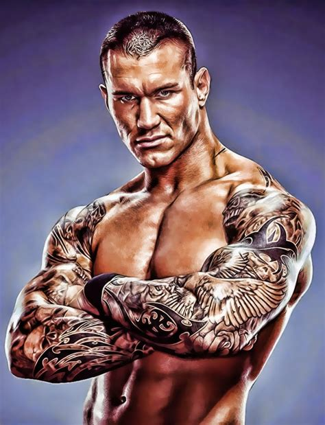 randy orton back tattoo randy orton tattoos randy orton
