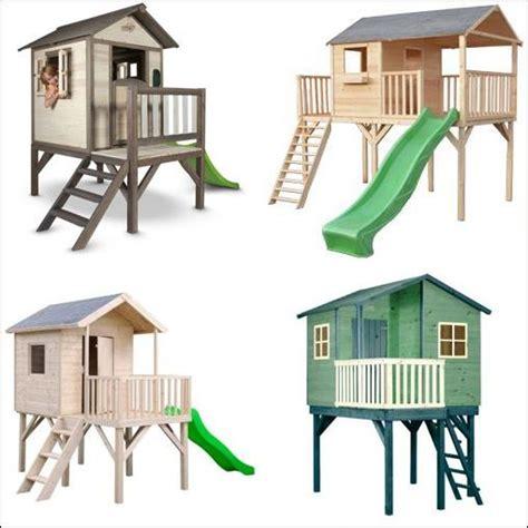 maisonnette en bois sur pilotis 3431 cabane ou maison enfant sur pilotis comparer les prix