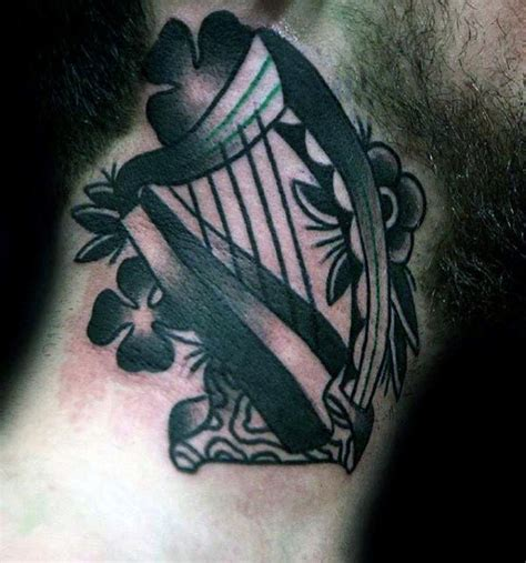 irish themed tattoo designs 50 traditional neck tattoos for school ink ideas