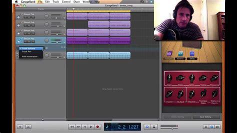 guitar tutorial garageband how to make up riffs and songs using garageband guitar