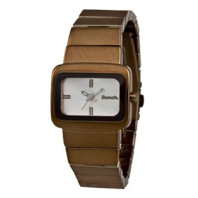 bench ladies watches bench ladies quartz analogue watch bc0234slbr with brown