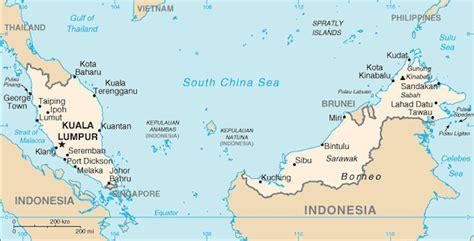 where is malaysia on a world map malaysia maps