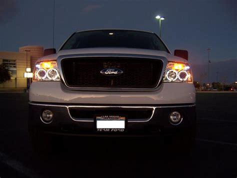 2007 Ford F150 Lights by 2004 2007 Ford F150 Led Halo Projector Headlights Dash Z