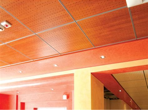 Fibre Board Ceiling Mdf Ceiling Tiles Wood Shade Lay In 15 By Itp