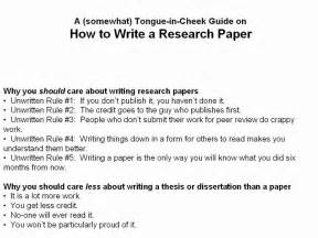 How To Write A College Research Paper by How To Write A Scientific Research Paper Part 1 Of 3
