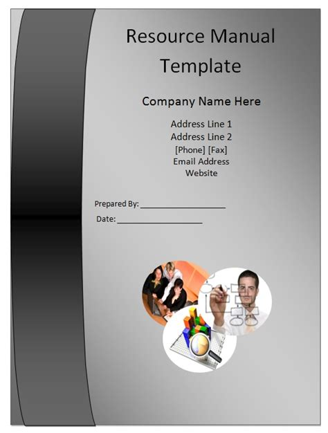 human resource manual template resource manual template guide help steps