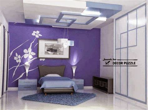 Bedroom Wall Ceiling Designs Gypsum Board Designs False Ceiling Design For Bedroom