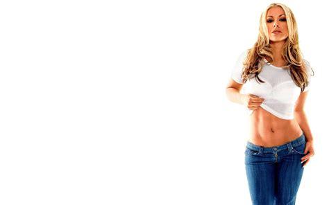 creative wallpaper girl jeans anastacia wallpaper
