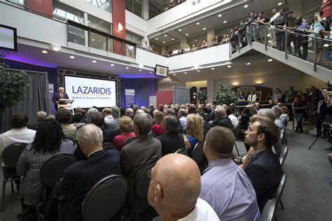 Business School Of Economics Mba by Laurier Names School Of Business And Economics After Mike