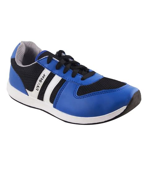 buy u v blue sports shoes for snapdeal