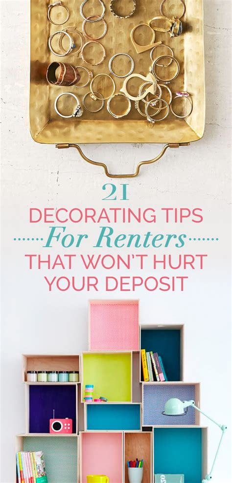 home decorating tips and tricks cheap and easy decorating tricks for renters thinkhom