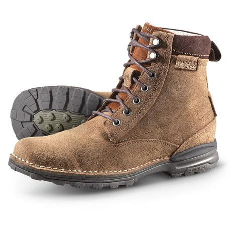 s merrell 174 perdal hiking boots bison 283035 work