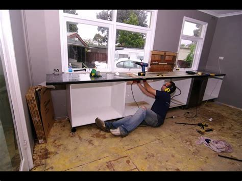 Bunnings Kitchen Cupboards - time lapse quot kitchen rennovation quot quot bunnings kitchen quot