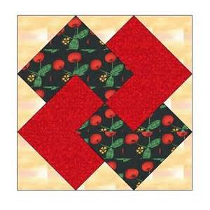 all stitches card trick paper piecing quilt block