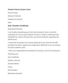 transfer letter template 5 free word pdf format