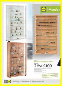 Display Cabinets Lidl Collector S Display Cabinet Lidl The 21st December 2015