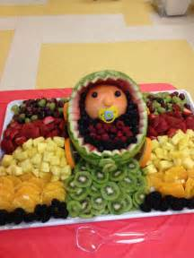 the best baby shower fruit tray ever food pinterest