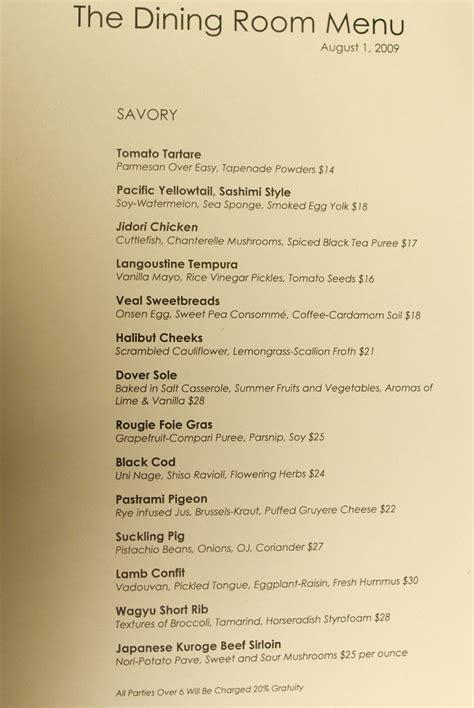 menu design norway sophisticated oasis of the seas main dining room menu