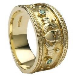 mens claddagh ring mens gold claddagh ring mg clad32