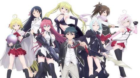 wallpaper anime trinity seven trinity seven anime amino