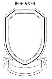 crest template free coloring pages of hogwarts house crests