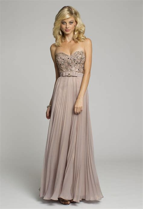 Bridesmaid Dresses Made In Usa - bridesmaid dresses metallic chiffon strapless dress