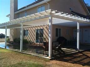 Attaching A Pergola To A House by Pergolas Attached To House Going Around Corner Google