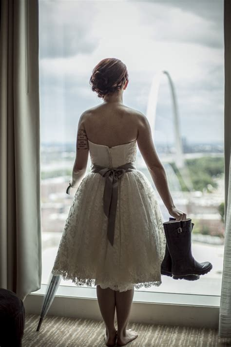Wedding Bell Rubber St by A View Of The Rainy St Louis Arch From My Hotel Room On
