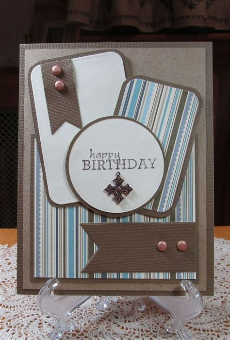 Masculine Handmade Cards - masculine birthday card by jd from pausa cards and