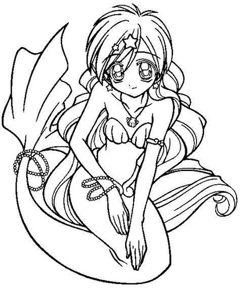 coloring pages anime mermaids mermaid melody coloring pages coloringpagesabc com