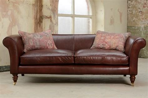 tetrad leather sofa tetrad leather sofas leather chesterfield sofas
