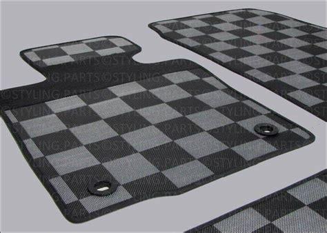 tappeti mini cooper mini countryman r60 paceman r61 tappetini in gomma scacchi