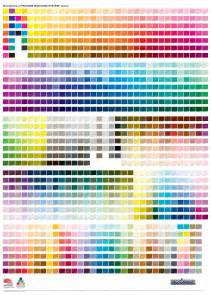 pms color chart pantone matching system color chart mcloone