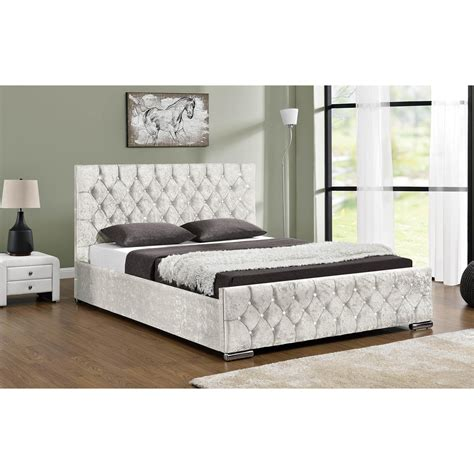 ottoman bed next day delivery arya velvet upholstered ottoman bed next day delivery