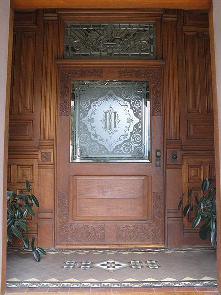 19 Best Victorian Etched Glass Images On Pinterest Redlands Door And Glass