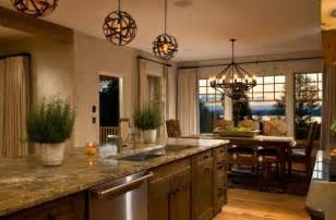 Over The Kitchen Island Lighting Height » Home Design 2017