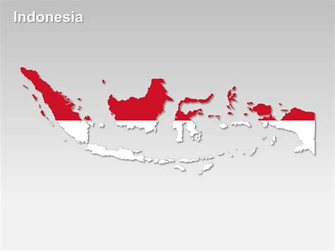 printable peta indonesia editable powerpoint map indonesia map editable