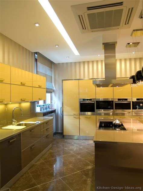 yellow and brown kitchen ideas pictures of modern yellow kitchens gallery design ideas