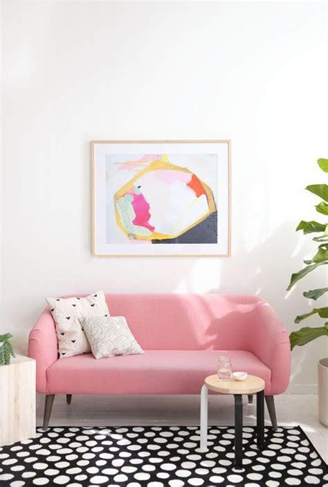 pink sofa com au le canap 233 de couleur on ose ou pas dis vague