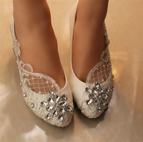 Pearl Bridal Shoes by Wedding Shoes Lace Bridal Shoes Lace Bridal Shoes Pearl