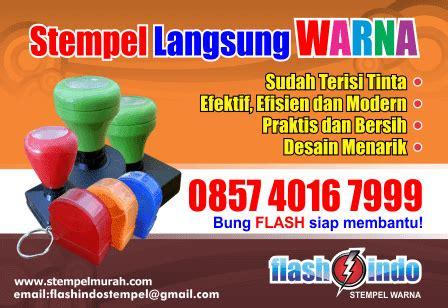 Simpel Stempel Stempel Stempel Murah flashindo produksi stempel warna