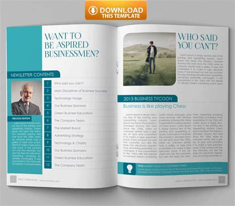 famous indesign newsletter templates top newsletter template