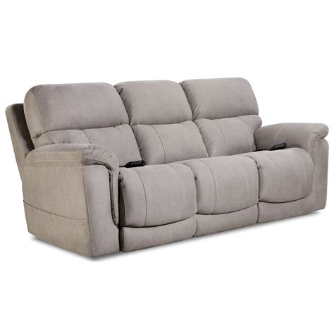 homestretch  collection    double reclining power sofa dunk bright furniture