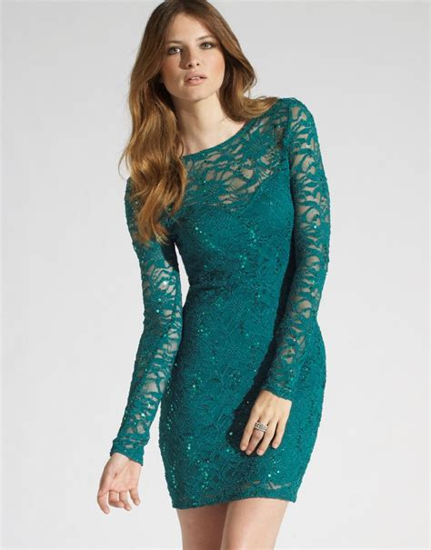 Dress Longsleeve sleeve lace dress dressed up