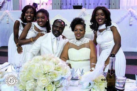 Pastor & Mrs Abel Damina Dazzle Guests at their Wedding